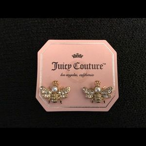 Juicy Couture Jewelry - Juicy Couture Bee Earrings